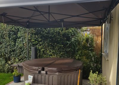 outdoor hire of hot tubs in south east UK England