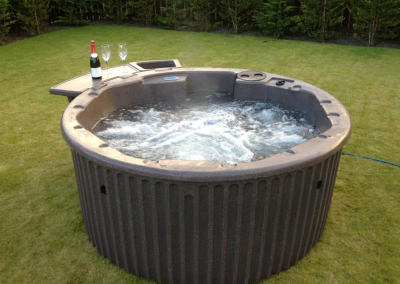champagne and relax with our hot tub hire by south east hot tubs